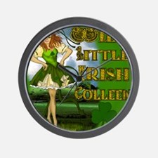 WILD-LITTLE-IRISH-COLLEEN-MOUSEPAD Wall Clock