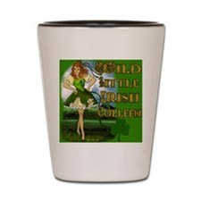 WILD-LITTLE-IRISH-COLLEEN-MOUSEPAD Shot Glass