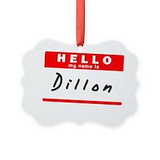 Dillon Ornament