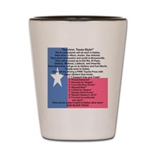 SURVIVOR TEXAS STYLE Shot Glass