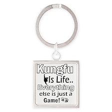 kungfu Square Keychain