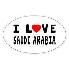 I Love Saudi Arabia Decal