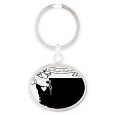 Port Angeles Oval Keychain