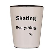 skate-board1 Shot Glass