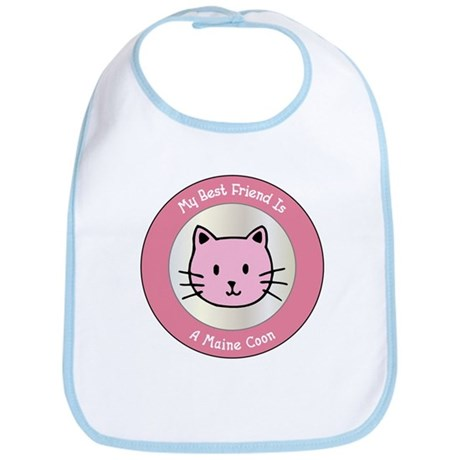 Friend Maine Coon Bib