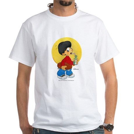 Skater Boy White T-Shirt