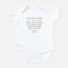 Live ! Infant Bodysuit