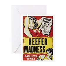 ReeferMadness_01lrg Greeting Card