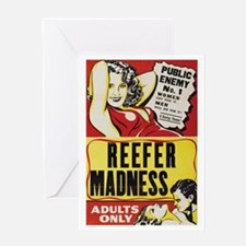 ReeferMadness_01lrg Greeting Card