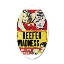 ReeferMadness_01lrg Wall Decal
