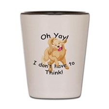 Dont_Think_CeramicTravelMug Shot Glass