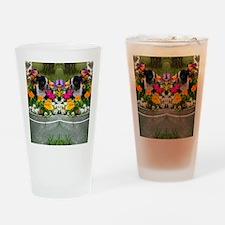 flip flops boston Drinking Glass