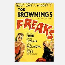 Freaks Postcards (Package of 8)