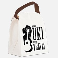 Have Uke Will Travel Canvas Lunch Bag