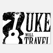 Have Uke Will Travel Postcards (Package of 8)