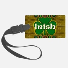 IRISH-CELTIC-SHAMROCK-LAPTOP Luggage Tag