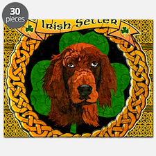IRISH-SETTER-CELTIC-LAPTOP Puzzle