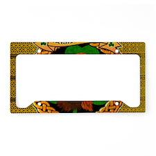 IRISH-SETTER-CELTIC-LAPTOP License Plate Holder