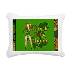 ROCK-MY-SHAMS-IRISH-LAPT Rectangular Canvas Pillow
