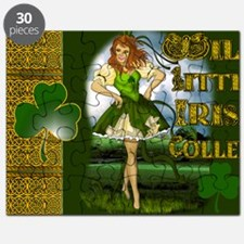 WILD-LITTLE-IRISH-COLLEEN-LAPTOP Puzzle