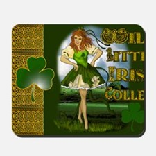 WILD-LITTLE-IRISH-COLLEEN-LAPTOP Mousepad