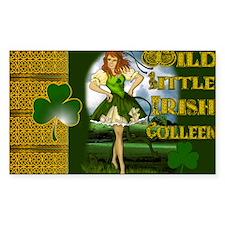 WILD-LITTLE-IRISH-COLLEEN-LAPT Decal