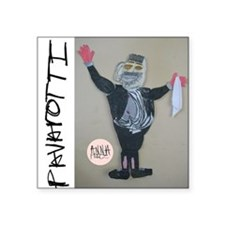 "Anna_Pavarotti.10x10 Square Sticker 3"" x 3"""