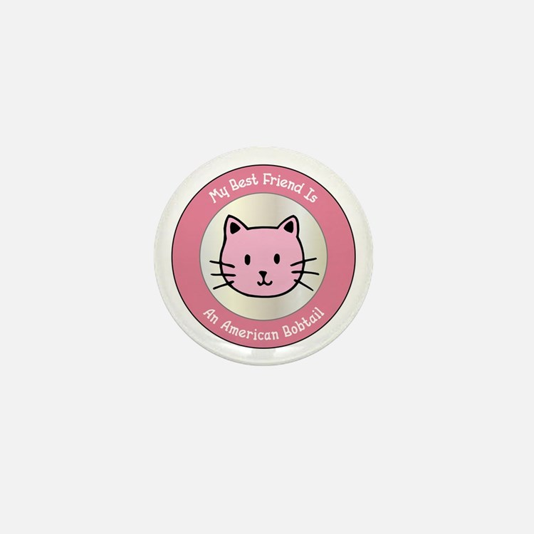 Friend Bobtail Mini Button