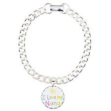 I Love My Nana! Charm Bracelet, One Charm