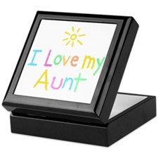 I Love My Aunt! Keepsake Box
