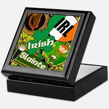 EMERAL-MEMORIES-IRISH-PILLOW Keepsake Box