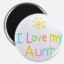 I Love My Aunt! Magnet
