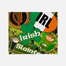 EMERAL-MEMORIES-IRISH-PILLOW Throw Blanket
