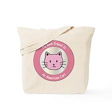 Friend Curl Tote Bag