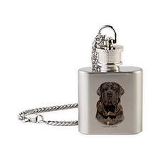 Neapolitan Mastiff 9Y393D-047 Flask Necklace