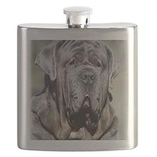 Neapolitan Mastiff AA021D-048 Flask