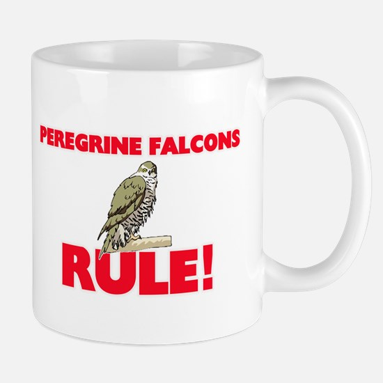 Peregrine Falcons Rule! Mugs