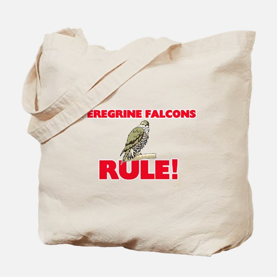 Peregrine Falcons Rule! Tote Bag