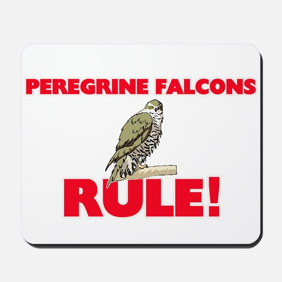 Peregrine Falcons Rule! Mousepad