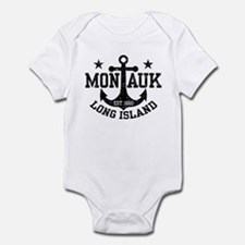 Montauk Long Island Infant Bodysuit
