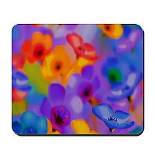 Art Whitaker Flowers 10 10 300 Mousepad
