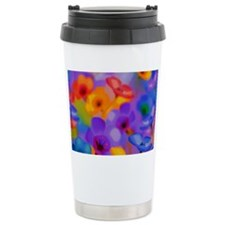 Art Whitaker Flowers 20 16 Travel Mug