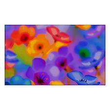 Art Whitaker Flowers 20 16 Decal