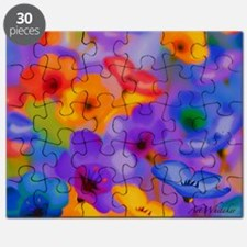 Art Whitaker Flowers 20 16 Puzzle