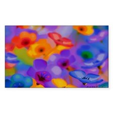 Art Whitaker Flowers 35 23 300 Decal