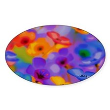 Art Whitaker Flowers 35 23 300 Decal