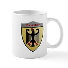 Germany Metallic Shield Mugs