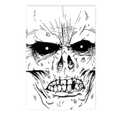 zombieface Postcards (Package of 8)