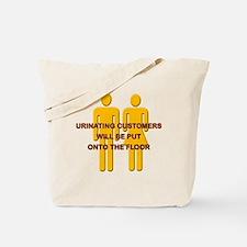 Urinating_Customers Tote Bag