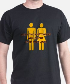 Urinating_Customers T-Shirt